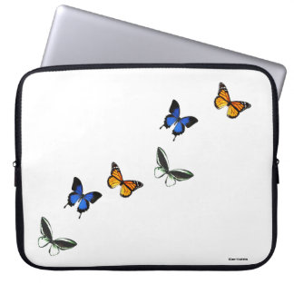 Butterfly Pattern Computer Laptop Sleeve