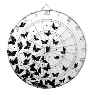 Butterfly pattern dartboard
