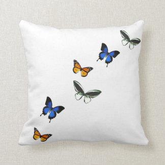 Butterfly Pattern Decorative Pillow