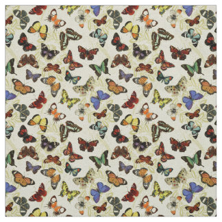 Butterfly Pattern Fabric