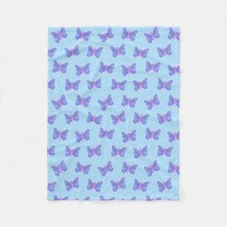 Butterfly Pattern - Fleece Blanket