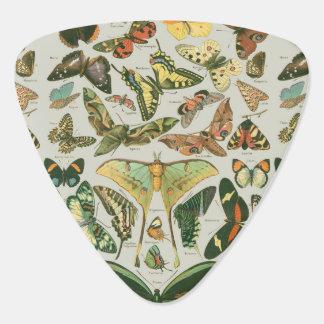 Butterfly Pattern Guitar Pick