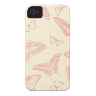 Butterfly Pattern iPhone 4 Case-Mate Cases