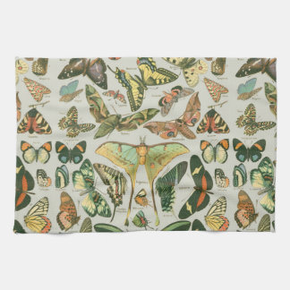 Butterfly pattern kitchen towels