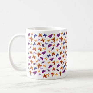 Butterfly Pattern Mugs