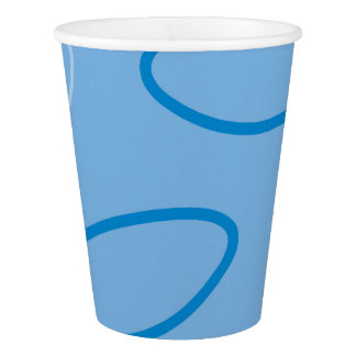 Butterfly pattern paper cup