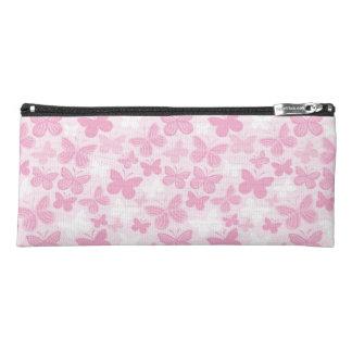 Butterfly pattern pencil case