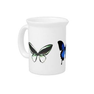 Butterfly Pattern Pitcher