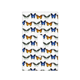 Butterfly Pattern Single Toggle Light Switch Cover