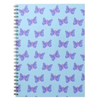 Butterfly Pattern - Sprial Notebook