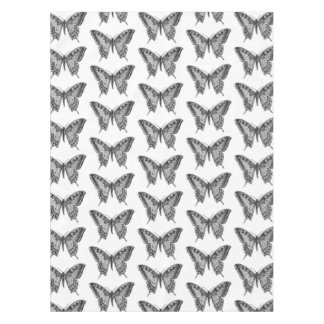 Butterfly Pattern Table Cloth Tablecloth