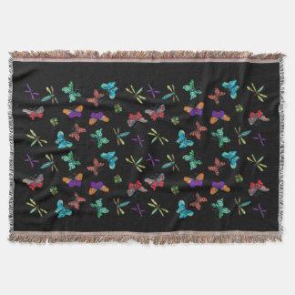 Butterfly Pattern Throw Blanket