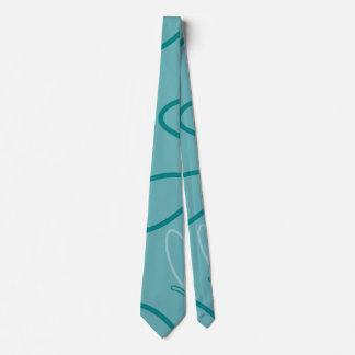 Butterfly pattern tie
