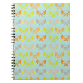 Butterfly patterns notebook