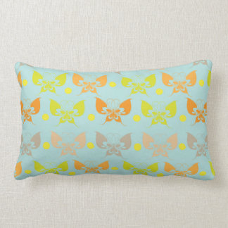 Butterfly patterns throw pillows