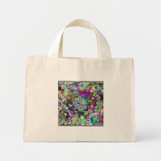 Butterfly Peace Sign Bag