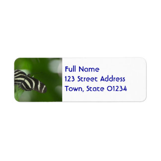 Butterfly Perfection Return Address Label