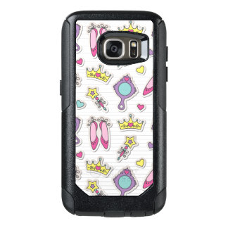 butterfly princess pattern OtterBox samsung galaxy s7 case