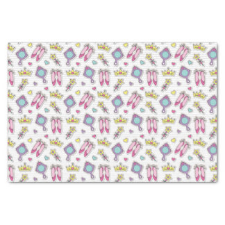 butterfly princess pattern tissue paper