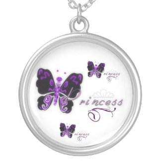 Butterfly Princess Silver Plated Necklace