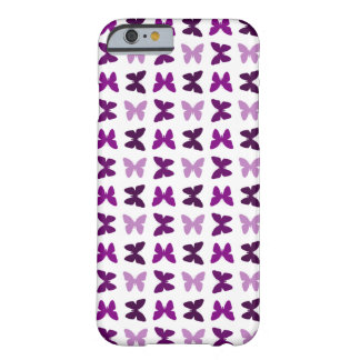 Butterfly Print Pattern - Monochromatic Color Barely There iPhone 6 Case