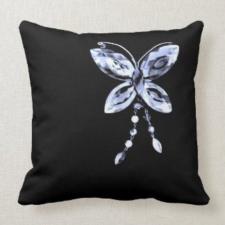 Butterfly Prism Throw Pillow