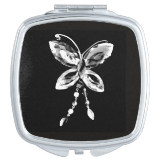 Butterfly Prism Travel Mirrors