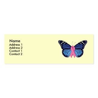 Butterfly Profile Card Mini Business Card