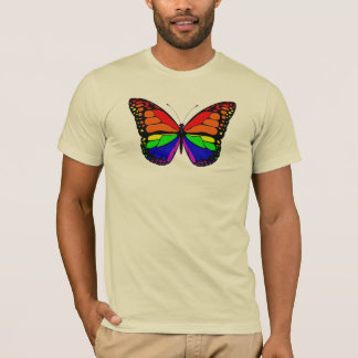 Butterfly Rainbow Mens Tee