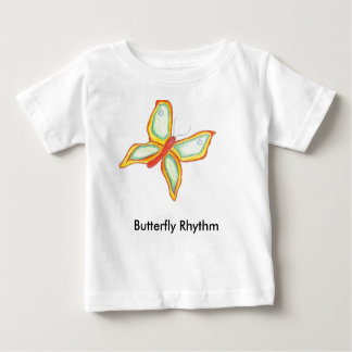 Butterfly Rhythm baby T shirt