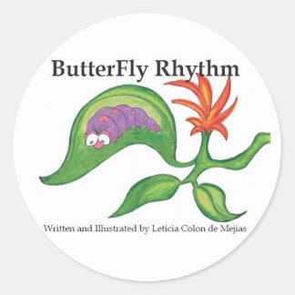 Butterfly Rhythm sticker