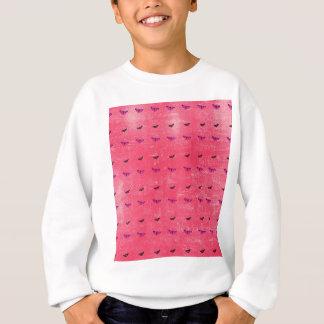 Butterfly rosy sweatshirt