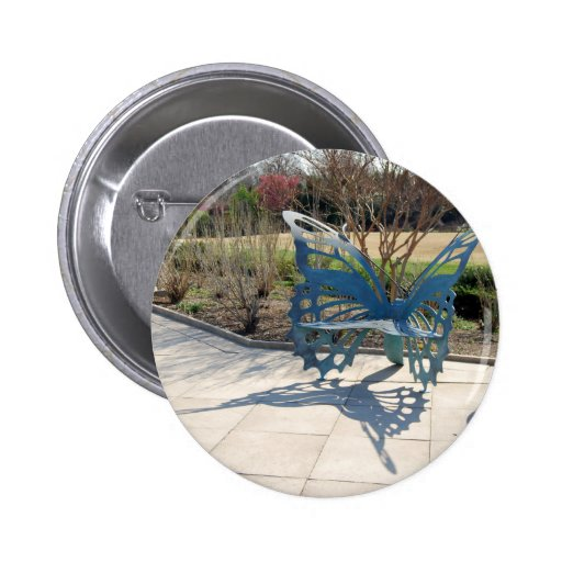 Butterfly Sculpture Chair in Spring Buttons