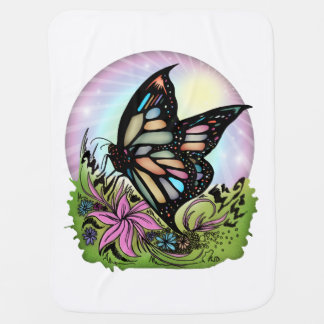 Butterfly Serenity Baby Blanket