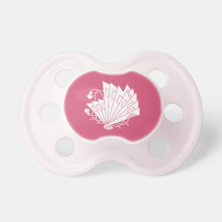 Butterfly-shaped fans (Hi-ohgi cho) Pacifier