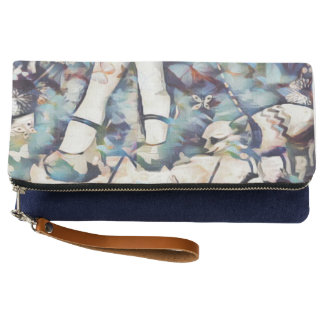 Butterfly Shoes Clutch