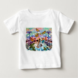 BUTTERFLY SHOW FOR FAE AND FROGS BABY T-Shirt