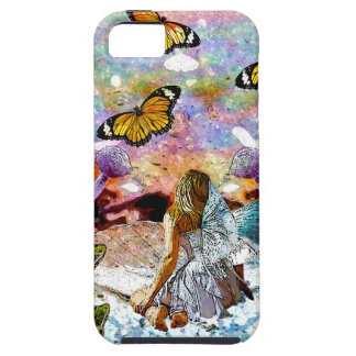 BUTTERFLY SHOW FOR FAE AND FROGS CASE FOR THE iPhone 5