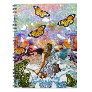 BUTTERFLY SHOW FOR FAE AND FROGS NOTEBOOK
