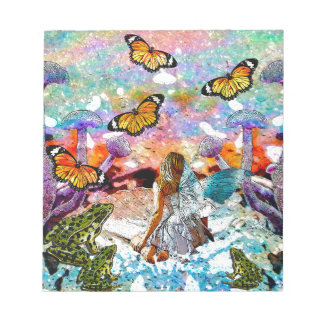 BUTTERFLY SHOW FOR FAE AND FROGS NOTEPAD