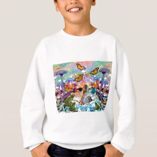 BUTTERFLY SHOW FOR FAE AND FROGS SWEATSHIRT