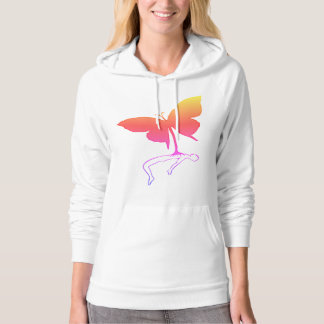 Butterfly Simple Illustration Style Hoodie