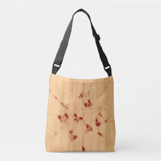 Butterfly sketch All-Over-Print Cross Body Bag