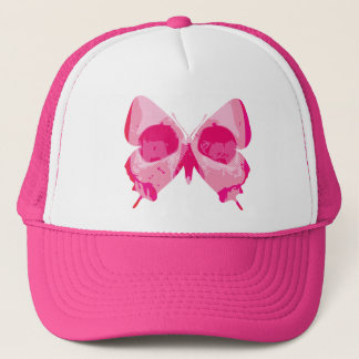 Butterfly Skull Trucker Hat