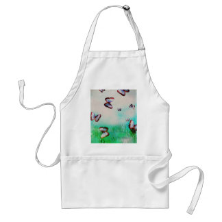 Butterfly sky original art design standard apron
