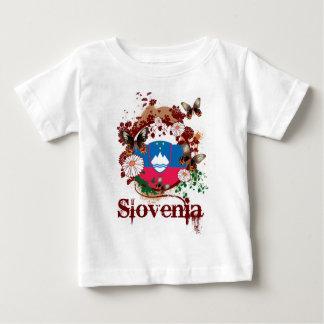Butterfly Slovenia Baby T-Shirt
