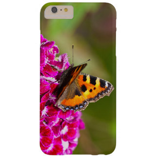 Butterfly small Tortoiseshell on Summerflower Barely There iPhone 6 Plus Case