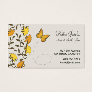Butterfly Social Calling Cards