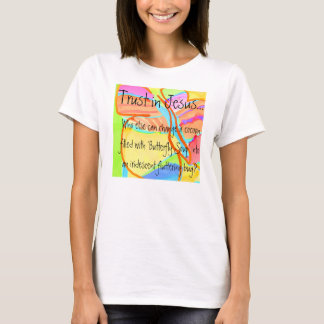 'Butterfly Soup' Ladies' Baby Doll T-Shirt