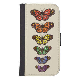 Butterfly Spectrum Samsung S4 Wallet Case